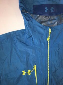 NEW Under Armour Scrambler Mens Hiking Jacket Size Large 130