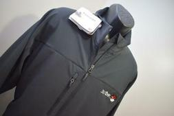 New Marmot Tempo M3 Black Full-Zip Softshell Jacket Mens 2XL