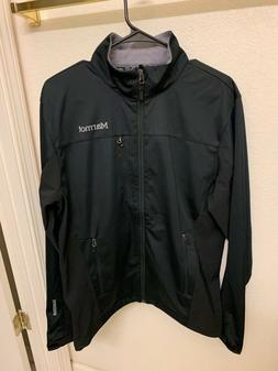 NEW With Tags Marmot Men's Meadow Softshell Jacket Wind Blac