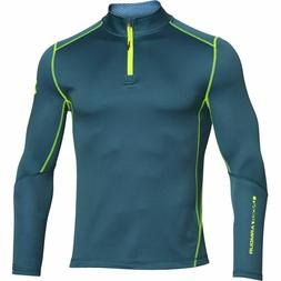 New Mens Under Armour Muscle ColdGear Heatgear Grid 1/2 Zip