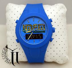 New Marc by Marc Jacobs X-Up Yellow Jacket Blue Silicone Ana