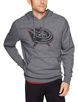 OTS NHL Columbus Blue Jackets Male Bravo Fleece Hoodie Distr