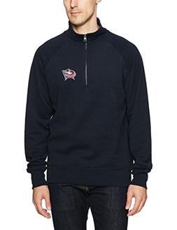 NHL Columbus Blue Jackets Men's OTS Fleece 1/4-Zip Pullover,