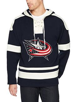 NHL Columbus Blue Jackets Men's OTS Grant Lace Up Pullover H