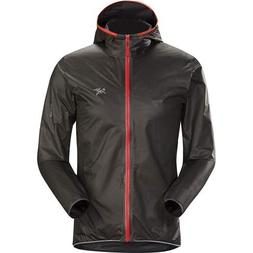 Arc'teryx Norvan SL Hoody - Men's, Black/Ember, Large, 34912