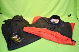 NWT MEN'S FIRSTGEAR RAINMAN MOTORCYCLE RAIN SUIT JACKET + PA