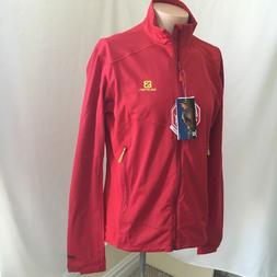 NWT Men's Salomon Windproof Water Resistant Gore Jacket XL A