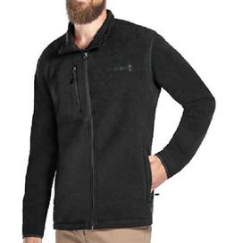 NWT Mens FREE COUNTRY Black Fleece Microtech Full Zip Jacket
