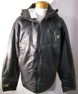 NWT Mountain Hardwear Mens Hooded Compressor Jacket XXL Blac