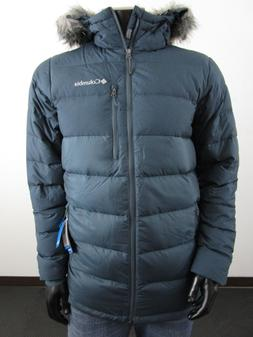 NWT Mens Columbia Northridge Lodge Down Hooded Jacket Winter