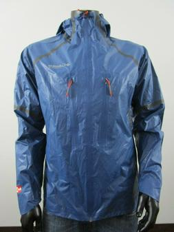 NWT Mens Columbia Outdry Featherweight Hooded Waterproof Rai