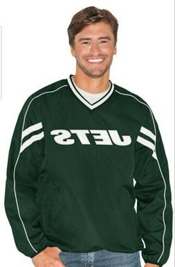 NWT New York Jets G-III Sports Mens Red Zone V-Neck Pullover