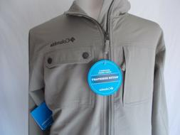 NWT COLUMBIA Phoenix Park JACKET Water Resistant TAN Full Zi