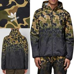 og dip dyed mens 2xl camouflage windbreaker