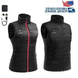 ORORO Men Women Heated Vest with Battery Pack Winter Sleevel