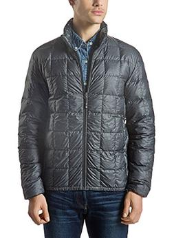 XPOSURZONE Men Packable Down Quilted Puffer Jacket SH.Charco