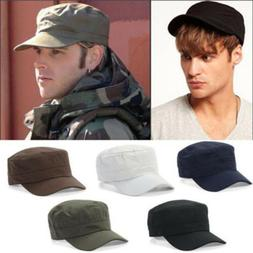 Plain Military Army Castro Cadet Patrol Hats Men Women Golf
