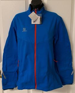 Salomon Pulse Softshell Jacket - Men's Union Blue / Midnight
