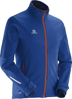 Salomon Pulse Softshell XC Ski Jacket Mens Sz M