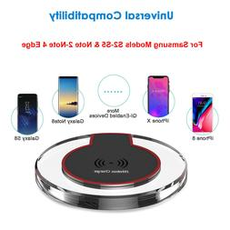 Qi Wireless Charger Universal Charging Pad for LG G4 G5 G6 Q