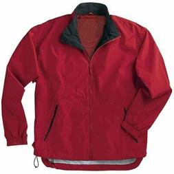 River's End Mid-Length Microfiber Jacket  - Red - Mens