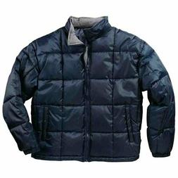 River's End Quilted Jacket  - Navy - Mens