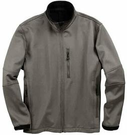 River's End Soft Shell Jacket  - Grey - Mens