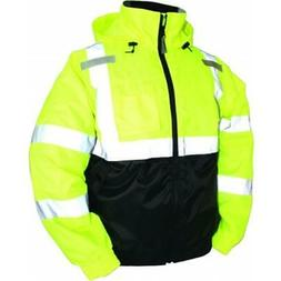 Tingley Rubber Bomber Ii High Visibility Waterproof Jacket L