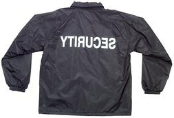 security guard jacket with security silk screen