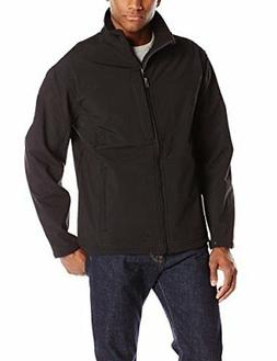 Red Kap Men's Soft Shell Jacket, Black, X-Large