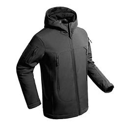 Flying Eagle Tactical Jackets Softshell Fleece Lined Water R