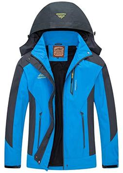 Diamond Candy men Sportswear Hooded Softshell Outdoor Rainco
