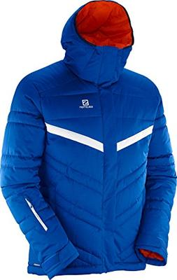Salomon Men's Stormpulse Jacket,Blue Yonder/White,US L