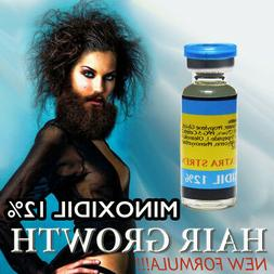 STRONG FAST hair loss grow men minoxidil 12 re growth treatm
