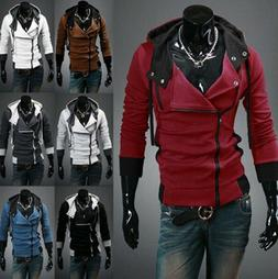 Stylish Creed Hoodie Cool Slim Mens Cosplay for Assassins Ja