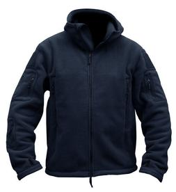 Tactical Mens Fleece Jackets Military Outdoor Outwear Police
