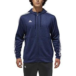 adidas Men's Tech Full Zip Fleece Hoodie Performance Hoode
