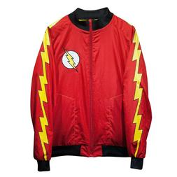 The Flash Perfect Fit Reversible Track Jacket - Yellow/Red