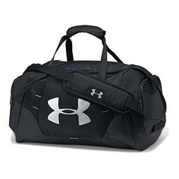 Under Armour Undeniable 3.0 Large Duffle Bag, Black /Silver