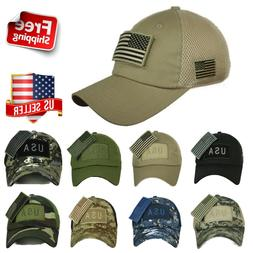 USA American US Flag Baseball Cap Mesh Trucker Tactical Oper