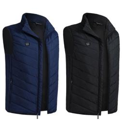 USB Electric Heated Warmer Vest Winter Rechargeable Heating