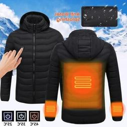 USB Heater Hunting Vest Heated Jacket Heating Winter Clothes