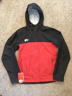 The North Face Venture 2 Dry Vent Black Red Rain Jacket Pack