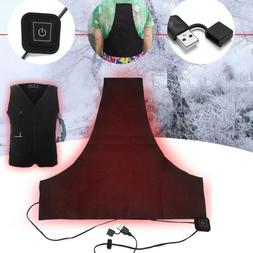 Washable USB Electric Heating Vest Pad <font><b>3</b></font>