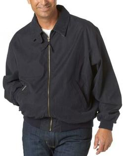 Weatherproof Men's Microfiber Classic Jacket, Navy, Large