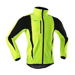 ARSUXEO Winter Warm UP Thermal Softshell Cycling Jacket Wind