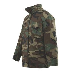 Woodland Camo ROTHCO M65 Field Jacket w/removable Quilted Li