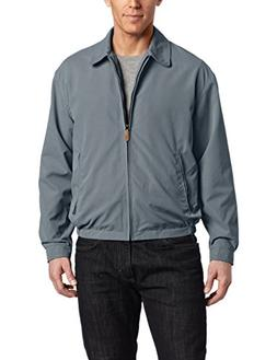 London Fog Men's Zip Front Light Mesh Lined Golf Jacket, Lig