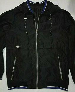 Zipped hooded jacket from Dior Homme.Size: 46. Gender: Male.